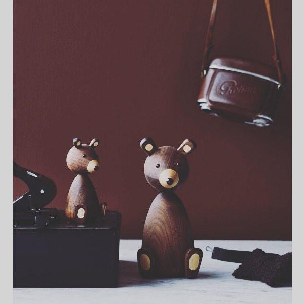 Figuras decorativas de #LucieKaas. Com os três personagens diferentes, o Famili ...