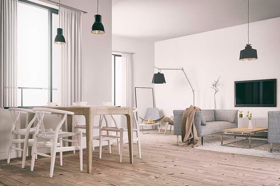 Ao decorar a primeira casa ou apartamento, você deve levar em conta o estilo que ...