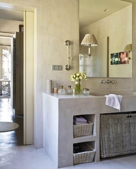 Isso é o que podemos chamar de banheiro eterno e zero de manutenção ... # banheirosof ...