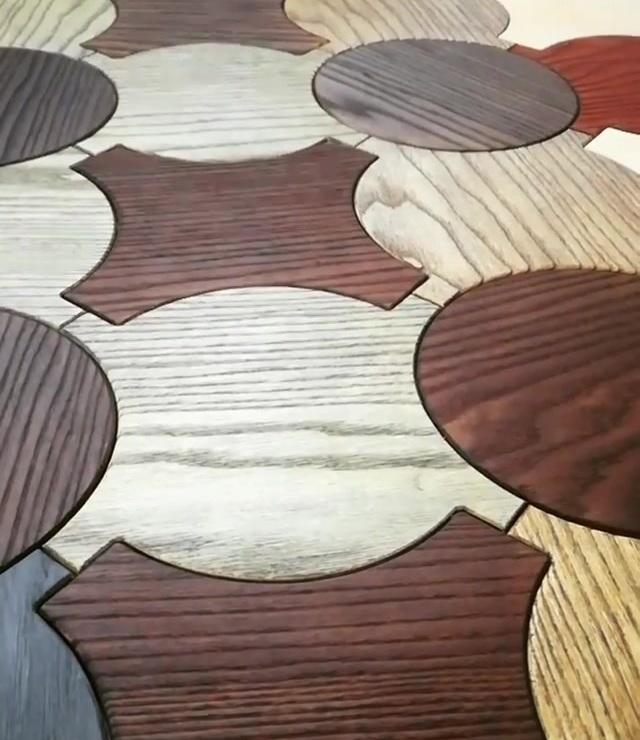 Cores diferentes! Formas diferentes! Diferentes tipos de madeira siberiana ...