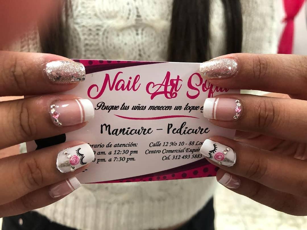 Por: @yuranibarinasm # decoraciondeuñas #nails #amoralarte #hermosas # decoradosuña ...