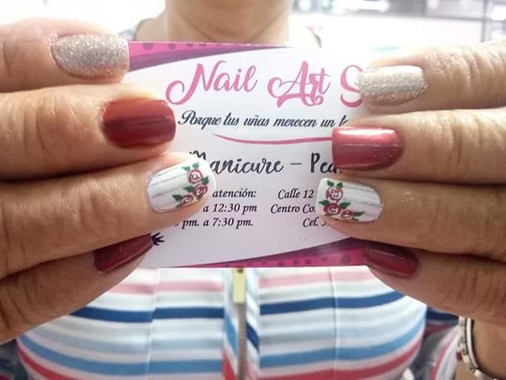 Por. @vivianabarinasm # decoraciondeuñas #nails #amoralarte #hermosas #decoradosu ...
