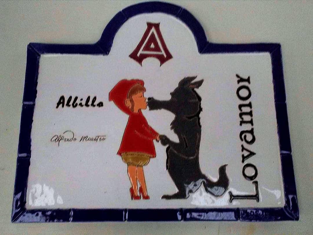 Outra placa dos fantásticos vinhos de Alfredo Maestro de Peñafield. Existem fa ...