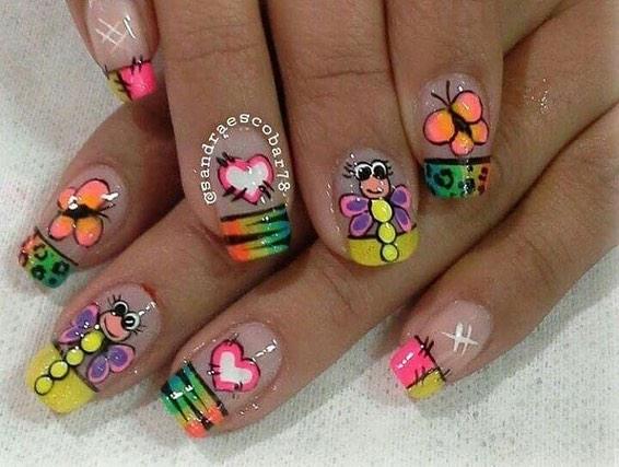 #clientsclothes #happyclients #nails # nails #decorated nails # decoração de unhas # ...