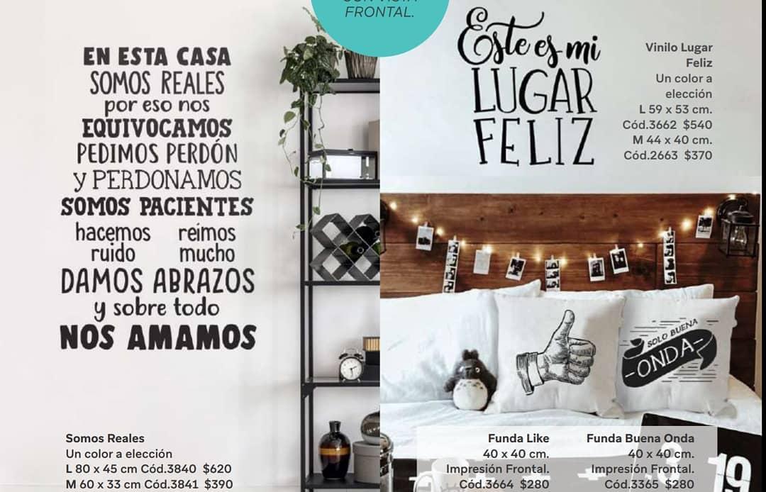 FRASES DECORATIVAS DO VINIL !!! Todos disponíveis em dois tamanhos! Medidas e preços ...