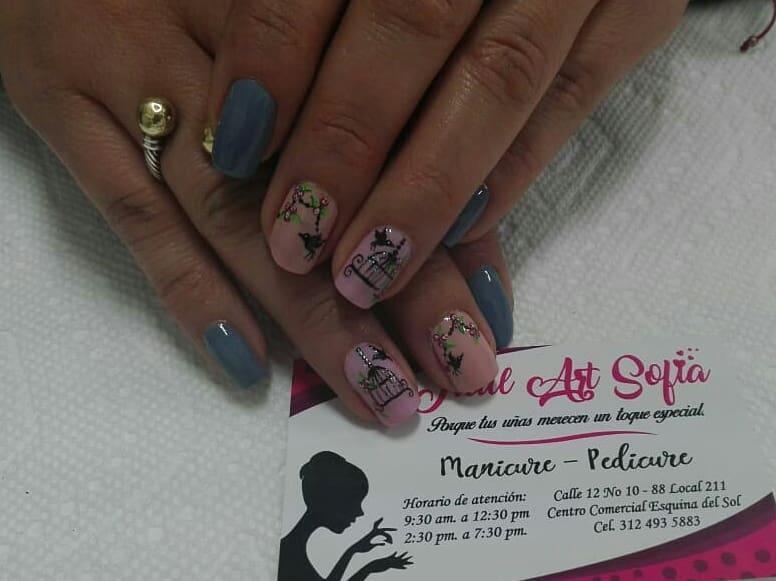 Belas decorações para suas unhas bonitas # decoraciondeuñas #nails #amoralarte # ...
