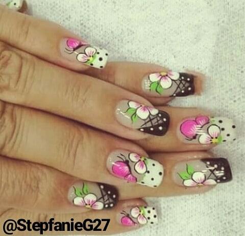 O meu trabalho: #nails #nailart # nails # unhas decoradas #nailartist #nailsdesign #nailp ...