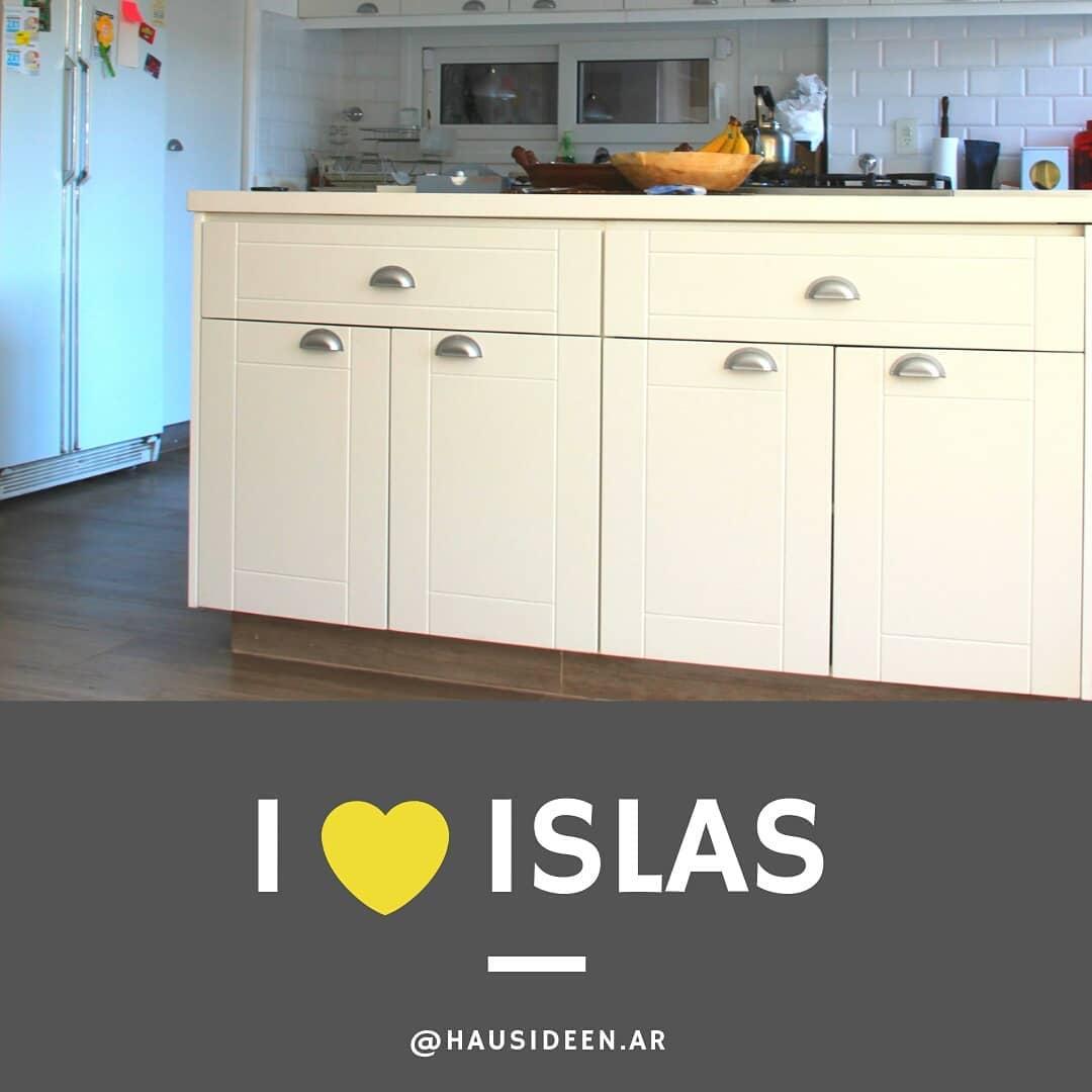 Se você gosta de cozinhas com um conceito aberto, você verá que as ilhas são ...