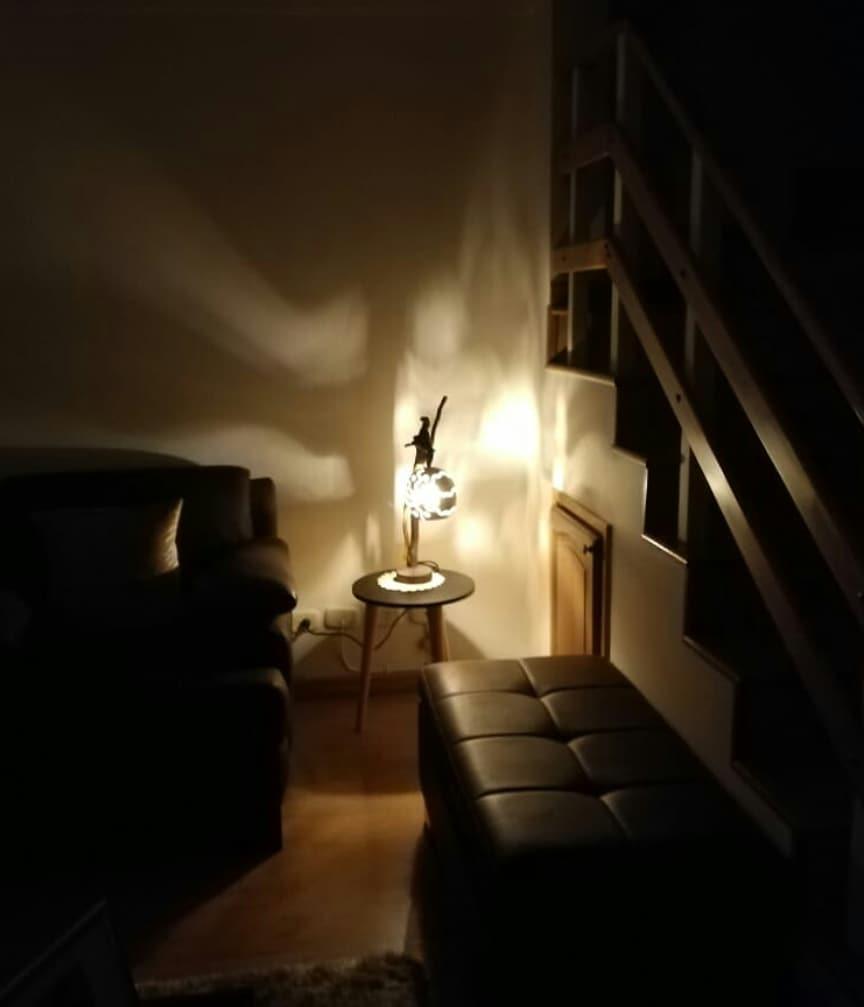 Nossos clientes compartilham fotos de seus espaços decorados com nossos dis ...