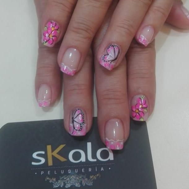 #skalapeluqueria # uñasdecoradas # uñasbogotá # decoraciondeuñas # manicuristas #na ...