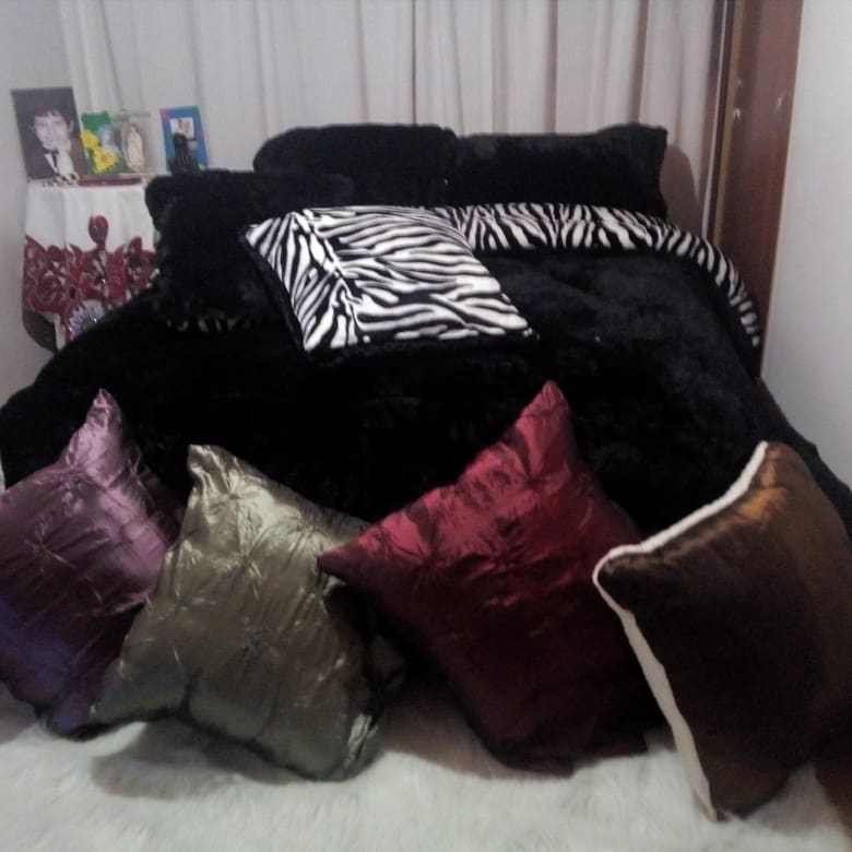 Zebra e colcha de estampa animal preto #creacionesMaryluna #plumones #Home #d ...
