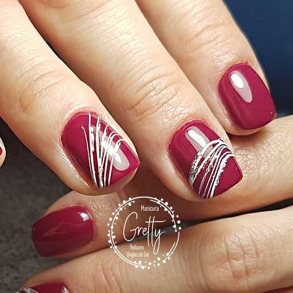 De cerca! #deconchas # decoraciondeuñas #fuchsianails #grettymanicura #gelnails ...