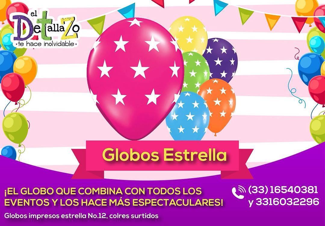 Impressione seus clientes com os balões estampados de estrelas que farão o seu evento ...