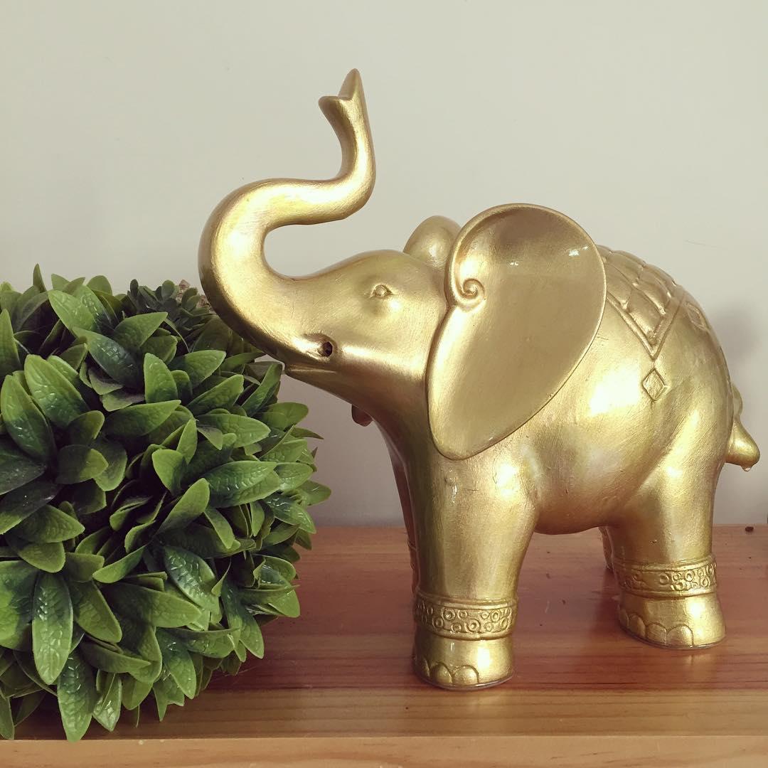 Elefante da abundância # elefante #abundância # decoração #regalo $ 380 ...