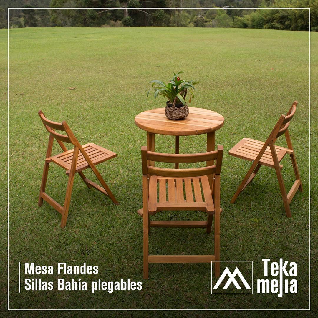 Nossas mesas em madeira de teca são criadas para resistir à chuva. Info.: 541 ...