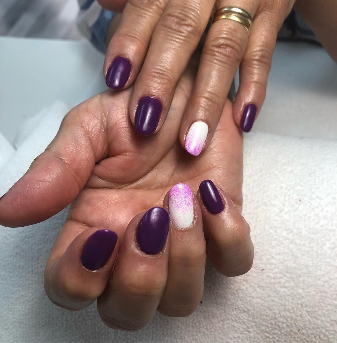 Atreva-se a usar unhas tão frias com esmalte semipermanente! #manicurase ...