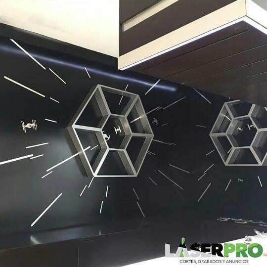 Tipo de decoração Star Wars # decoração #decoracionde interioriores #starwars #bar #la ...