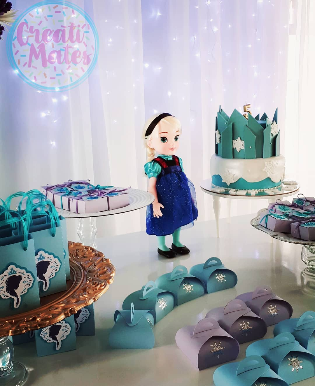 #mesadulce #frozenparty #frozencake #toddlerelsa #fiestainfantil #decoração #c ...