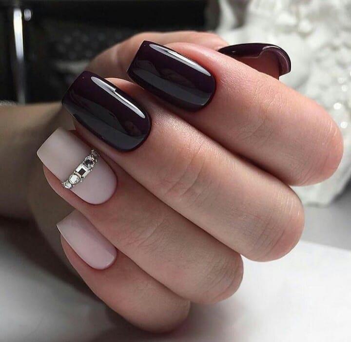 Unhas esculpidas com acrilgel Esmalte Semipermanente Manicure Russa ... #nailst ...
