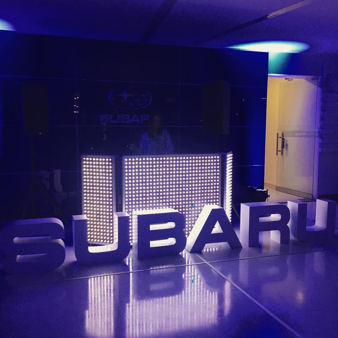 Inauguração SUBARU LA MOLINA #event #produtor #reverseproductions #reverse ...