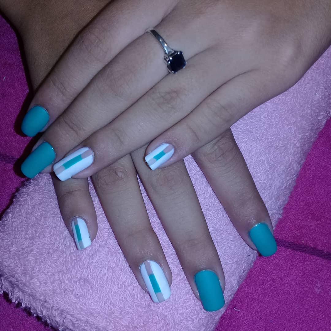 Obter unhas elegantes mate #magicnailsspa #nails #nailsart # magiaentusuñas #decor ...