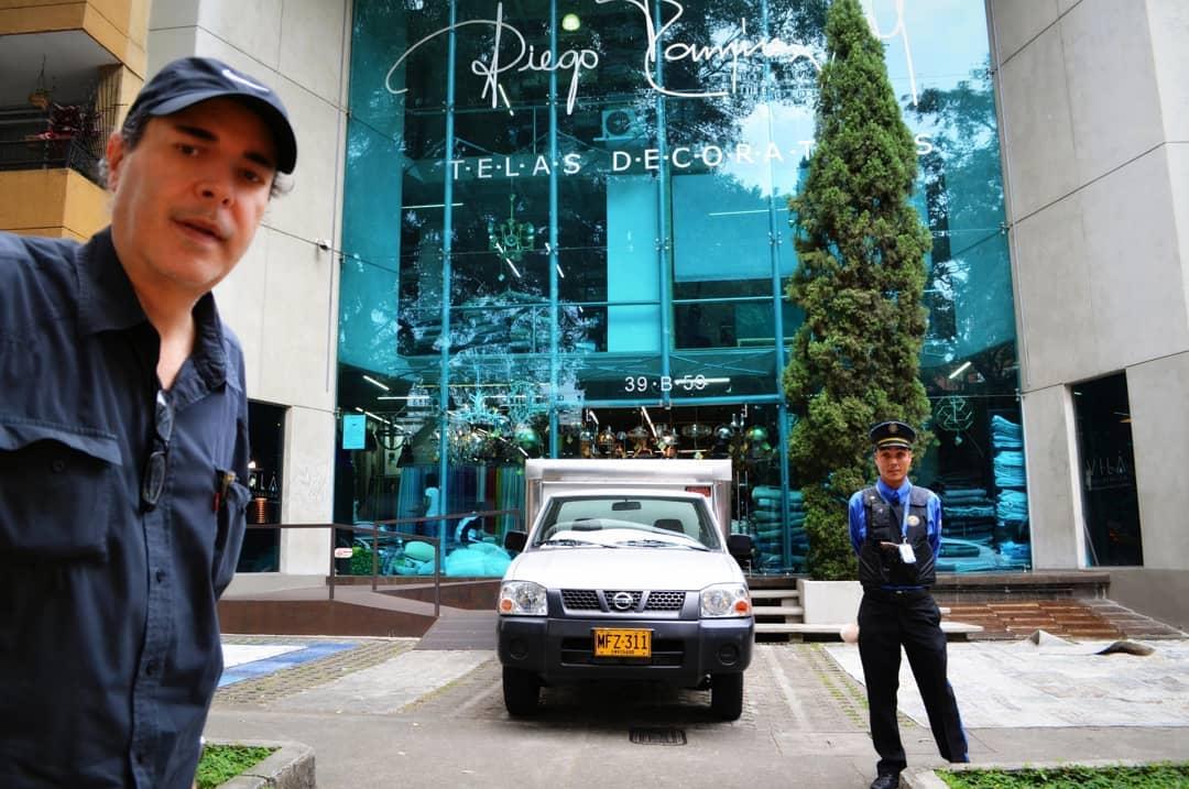 @diegoramireztelasdecorativas  Belo para sentir a boa energia do nosso povo ...