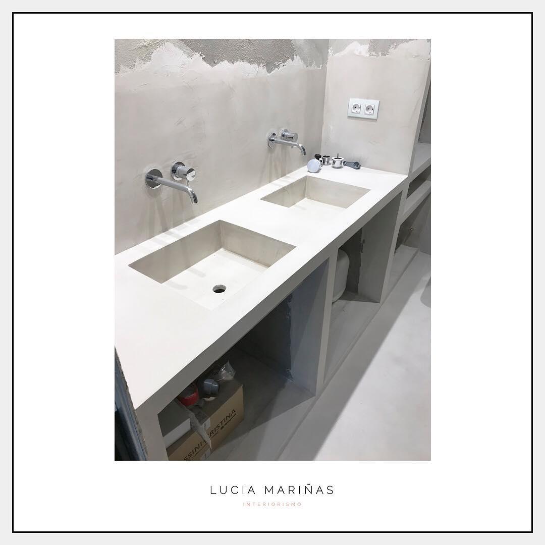 Mais fotos do banheiro microcement feitas completamente para medir ...