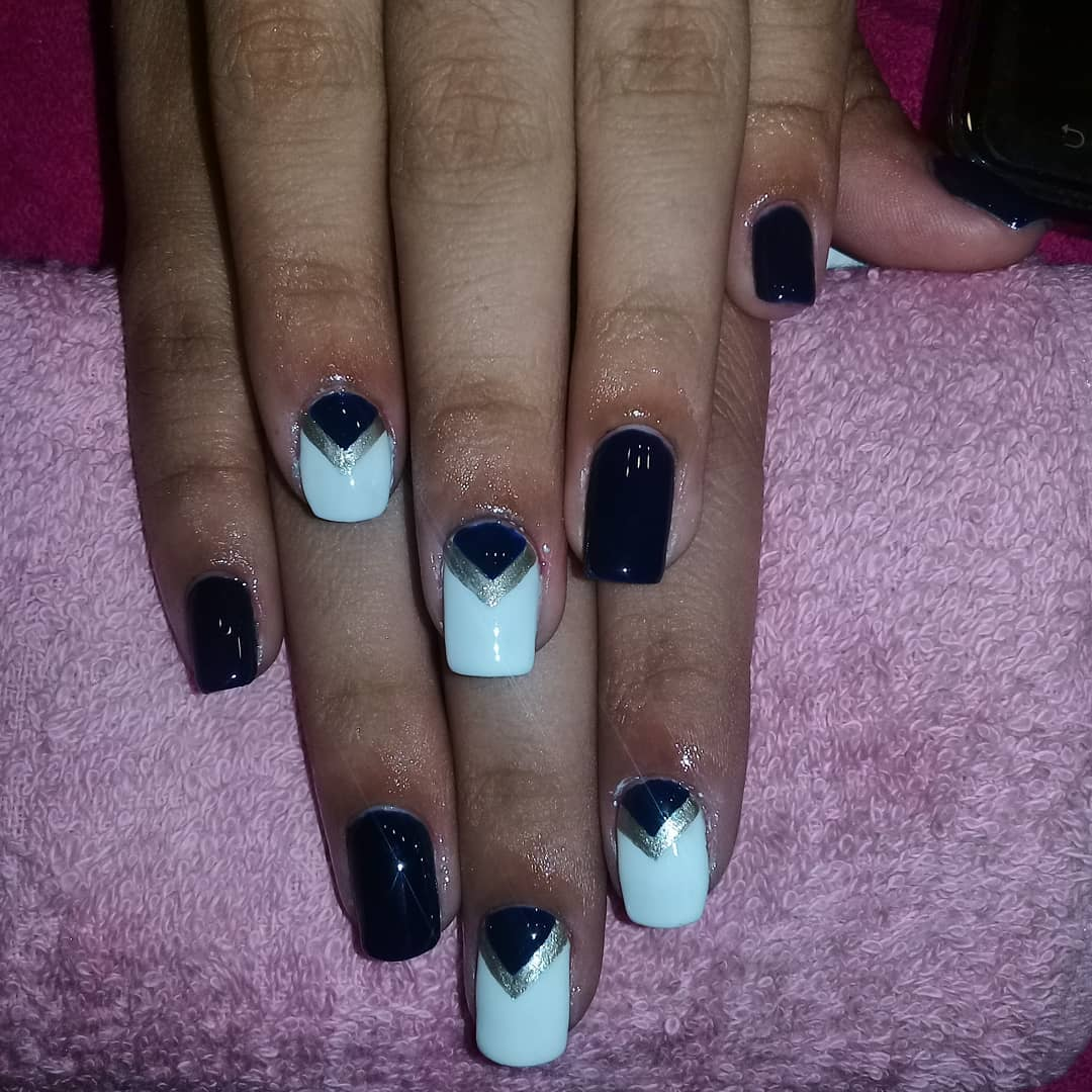 Simplesmente divino! #magicnailsspa #nails #nailsart # magiaentusuñas #decorac ...