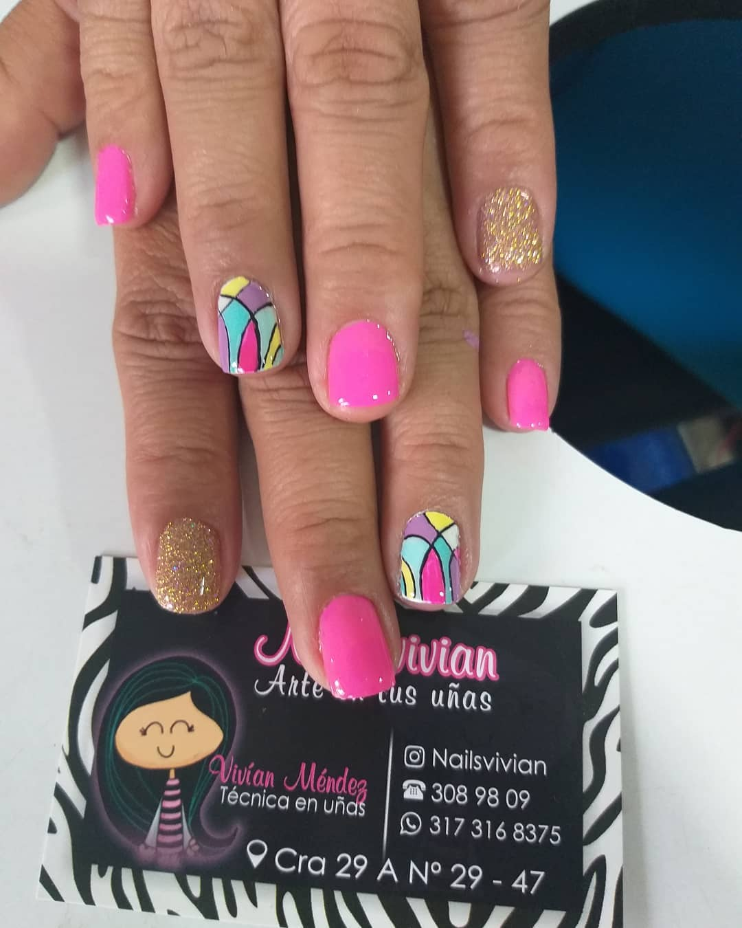 #manicure #manicure #handprints # decoraçãodeuñas #decoraciondemanos #amorpropi ...