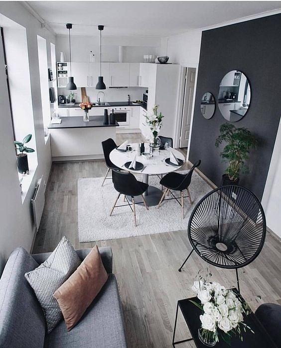 Muito apaixonada por esse espaço  Amo esses tons, acho sofisticado e lindo. . . ...