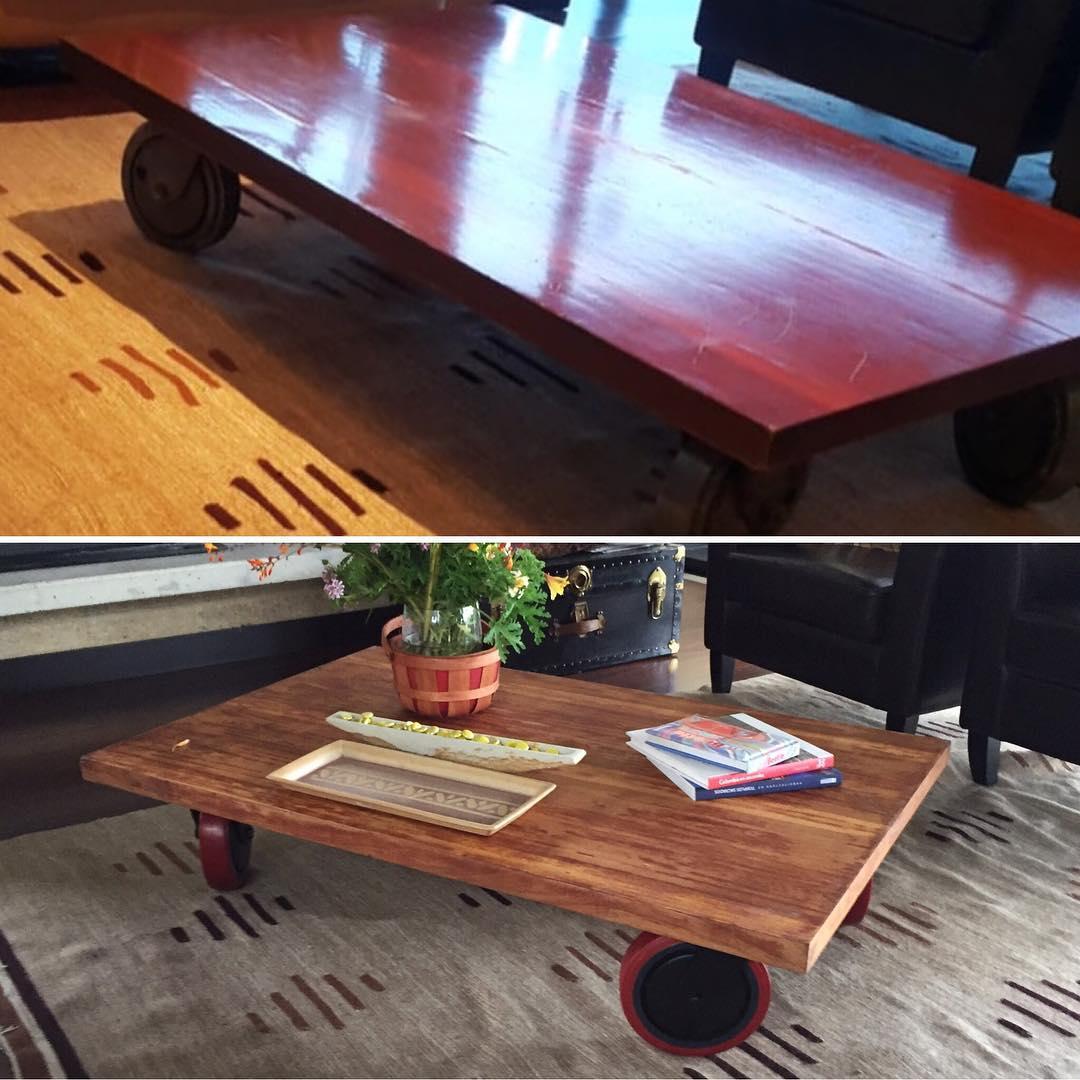 Nós restauramos o seu mobiliário sempre que quiser! # lacalera # designs # espaços # cor # subtração ...