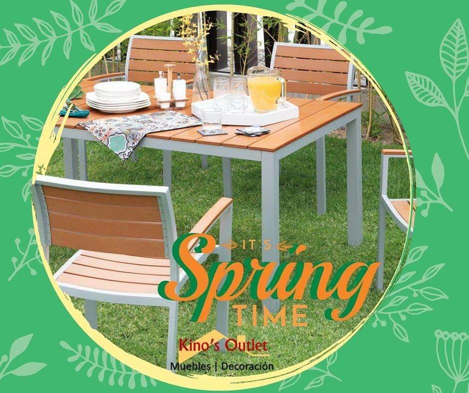 O #PRIMAVERA está chegando Prepare-se e gere um ótimo estilo com a mesa e cadeira p ...