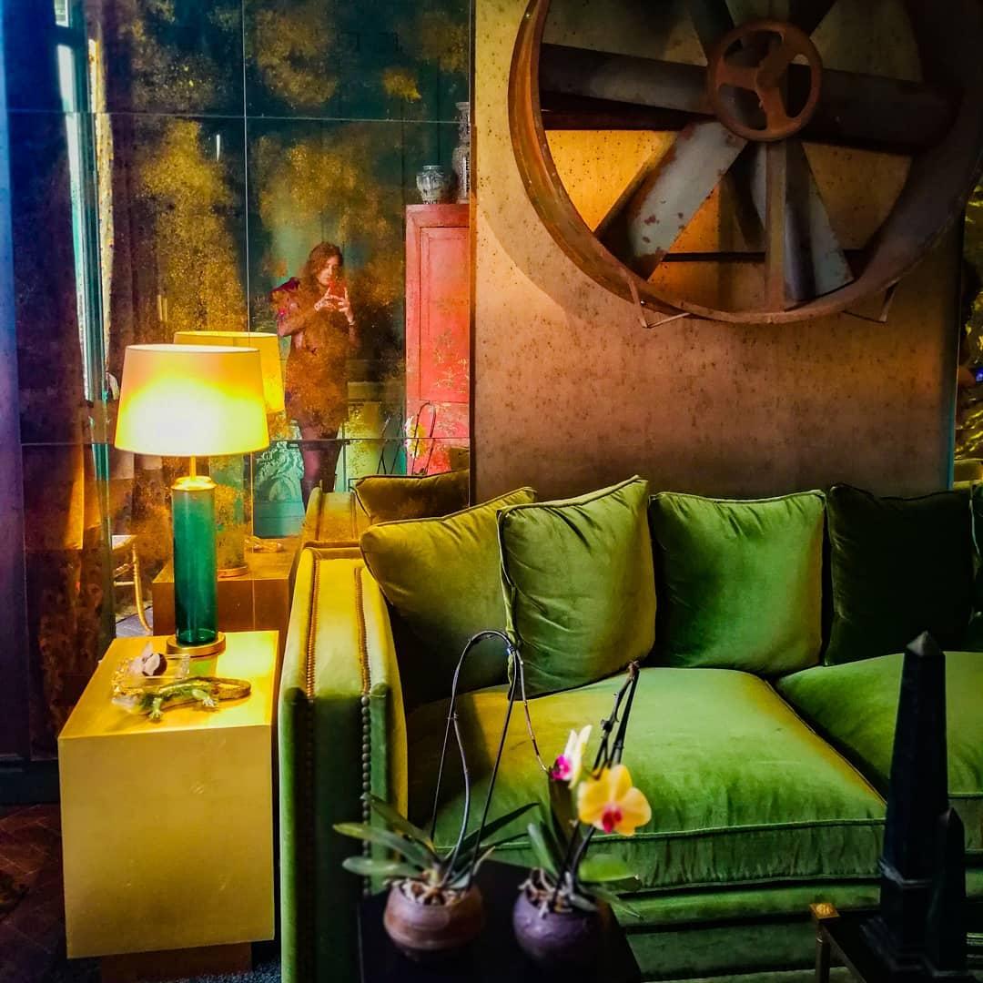 Em verde ... Visitar as tendências 2019 espaços. . # Casadecor2019 #madrid #lo ...