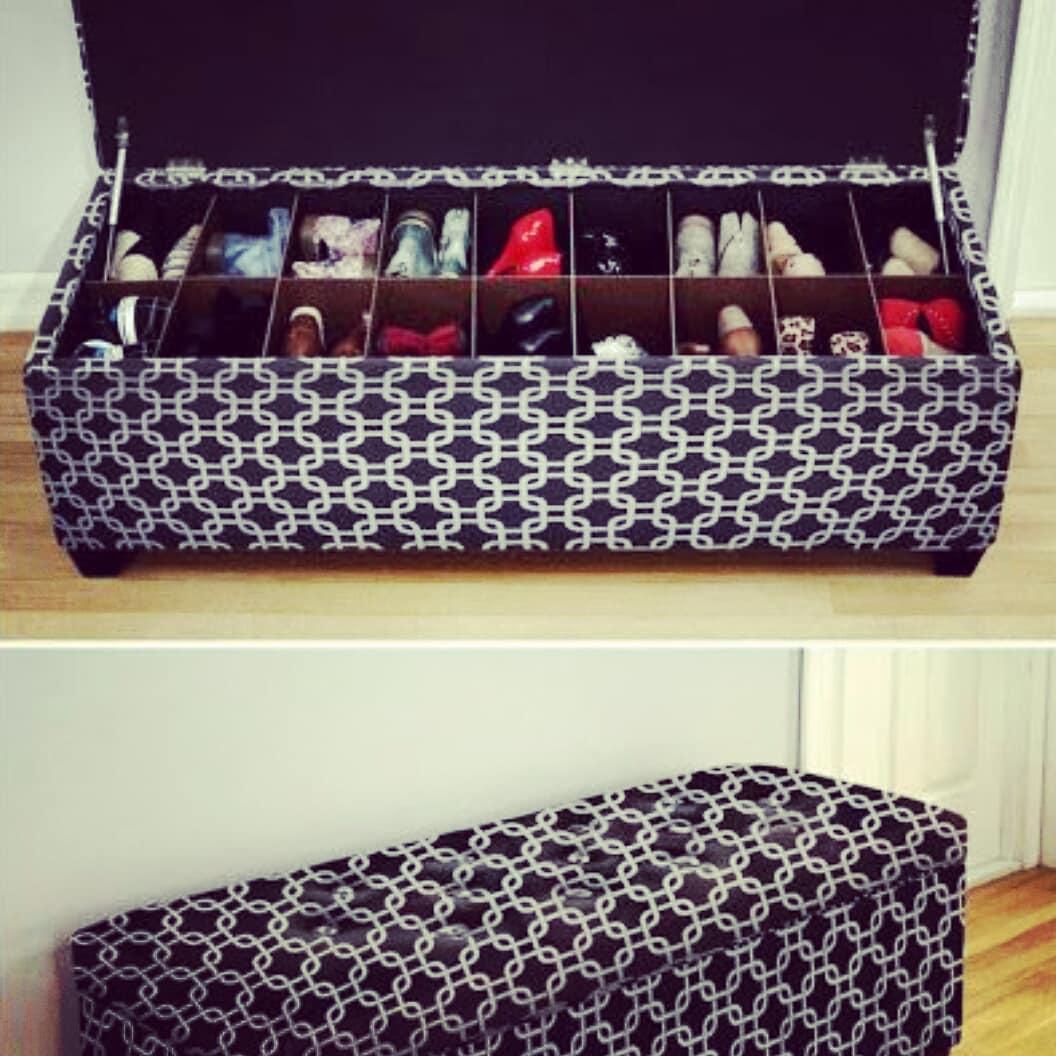Opções para guardar seus sapatos #ordenentuhogar #deco # organizacióndetuhogar # ...