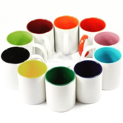 Canecas cor interna. . . . . . . . . . . . . . . . . . . . . #mug #color # design ...