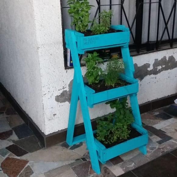 Cliente feliz com seu jardim #miqueridohuerto #queesperasparatenereltuyo #decorac ...