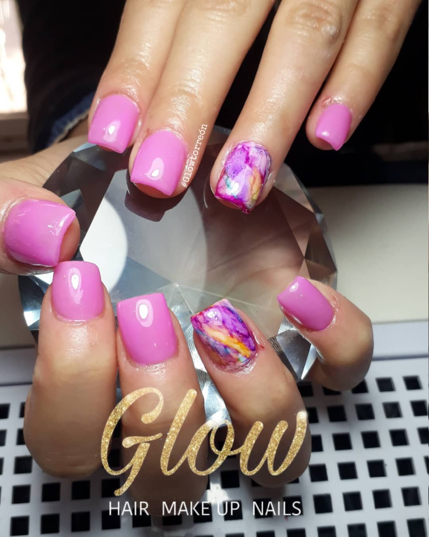 # uñasmini #pink # unhas decoradas #nails # nails # decoração de unhas ...
