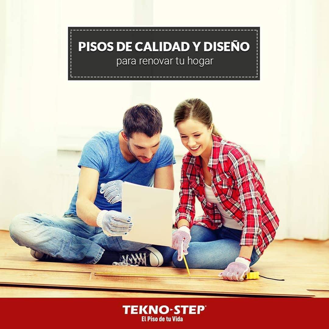 Se você está indo para remodelar, pense em # BROWN. . . #TeknoStep #PisoLaminado # estiloMARRÓ ...