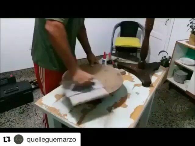 @quelleguemarzo transforma tudo o que ele toca ... ou pinta. Desta vez eles deram-lhe novo ...