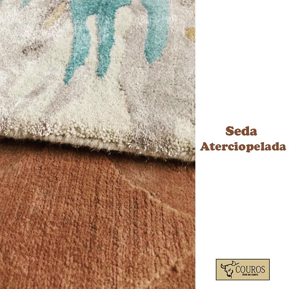 Texturas que amam! O tapete de seda aveludada é a nova tendência ...