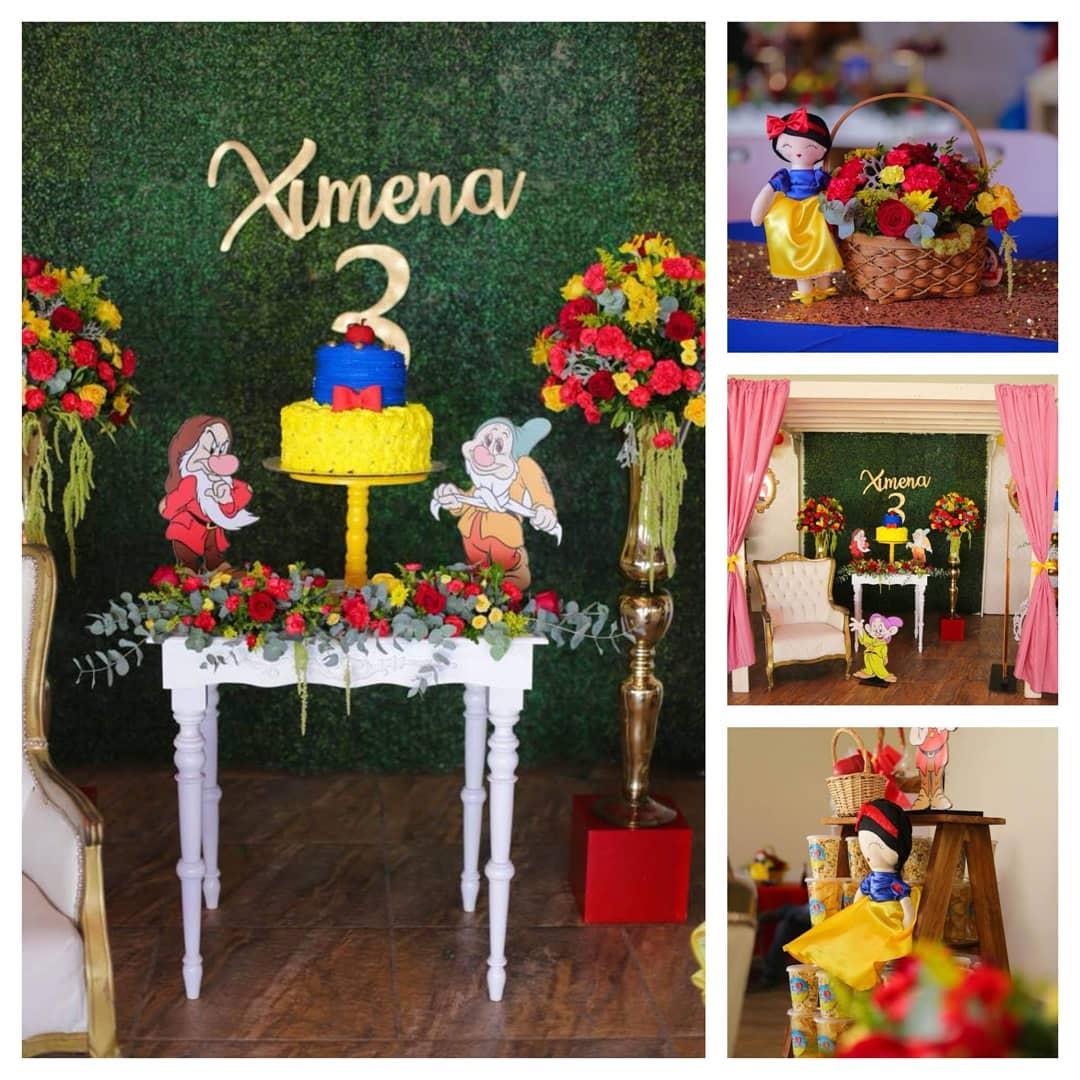 Uma festa especial para uma linda Branca de Neve #events # decoration #fiesta # ...
