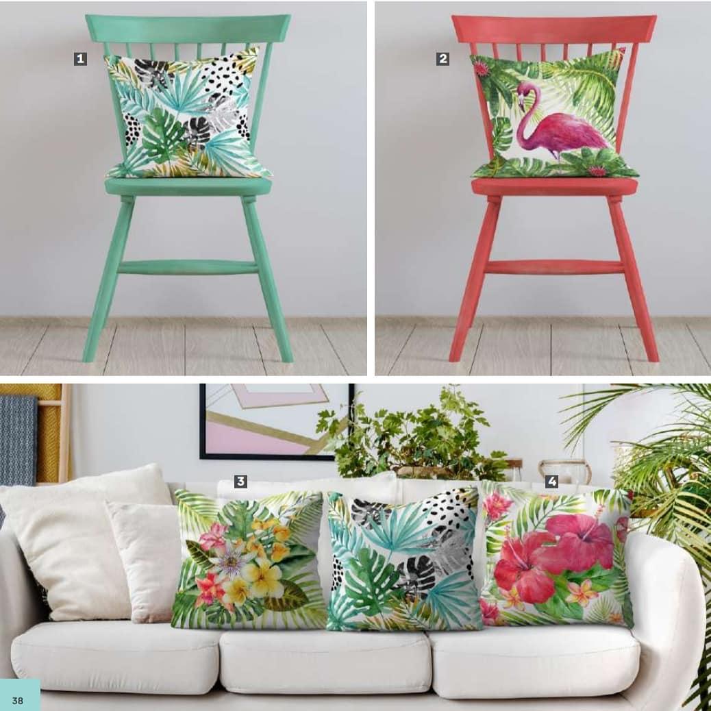 COBERTURAS PARA TRAVESSADORES Adicione cores, boas vibrações e estilo à sua casa!  MODELOS E ...