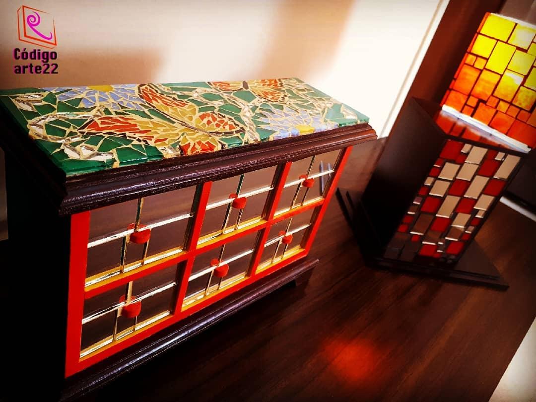 Design made mosaic ... # codearte22 # VitroMosaicoCodeArte22 # Design # design ...