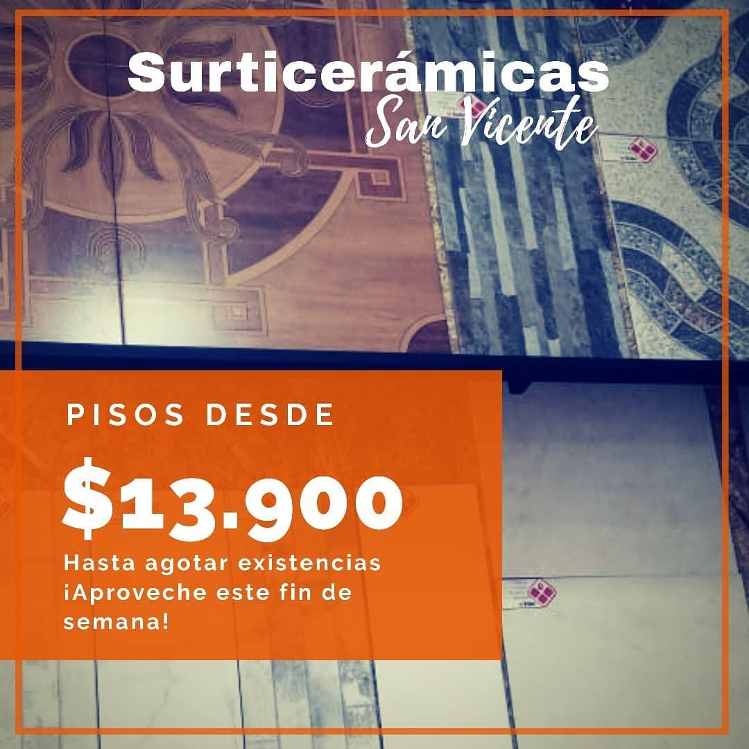 #SurticeramicasSanVicenteEle tem flats de $ 13,900 em referências selecionadas ...