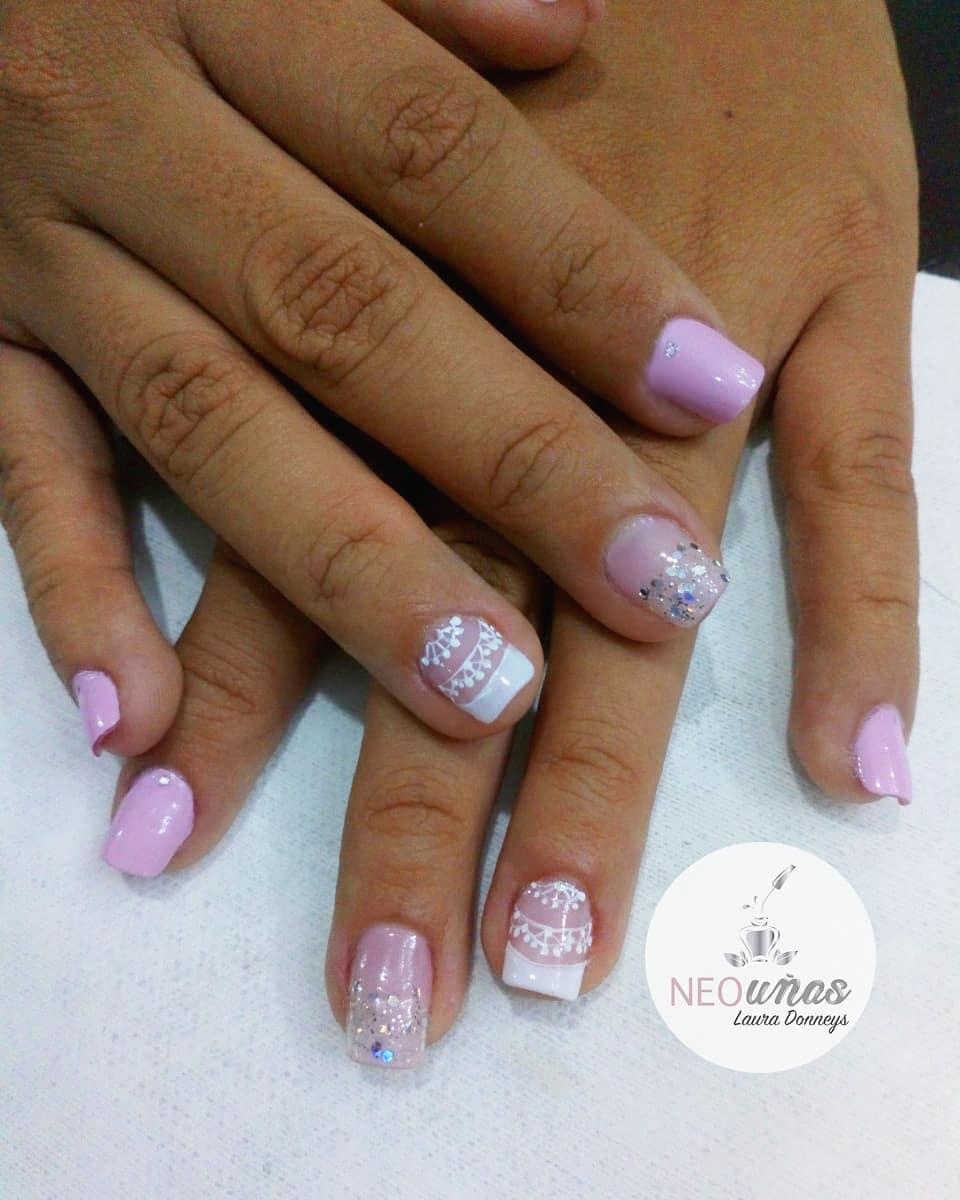 Pontas de unhas naturais . . . . # uñascali # uñasbonitas # unha # decoração # domicili ...