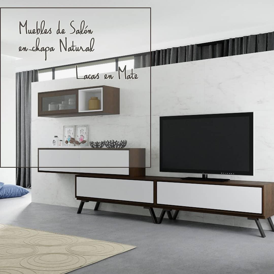 Nós já mostramos-lhe alguns móveis de salão em verniz natural com vernizes mate. Eles são ...