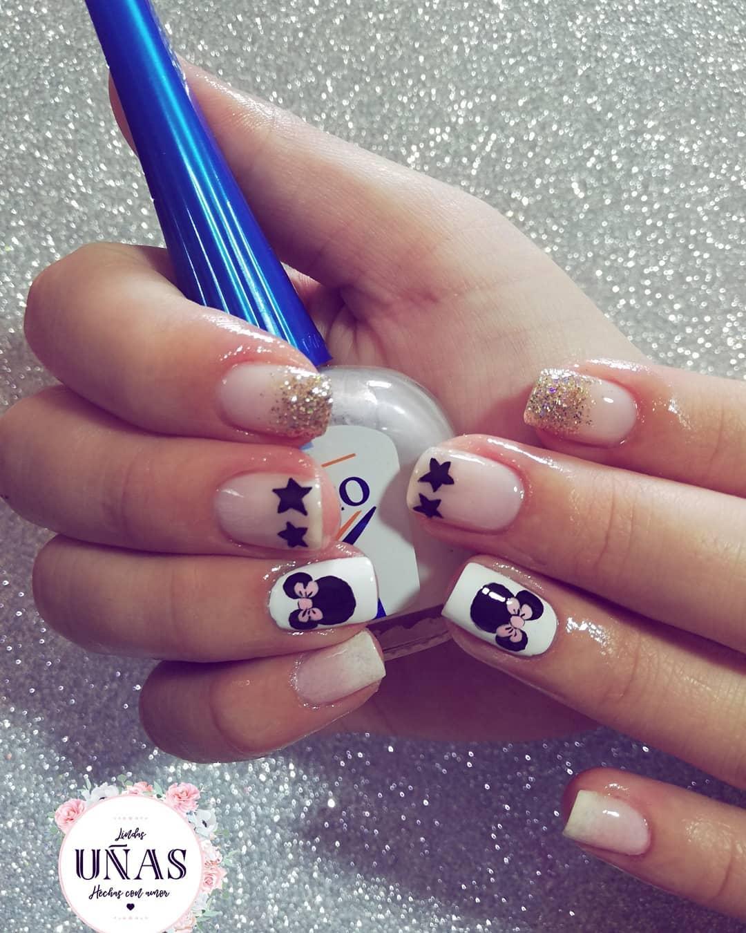 Unhas fofas feitas com amor # unhas # unhas # unhas # unhas # unhas # manicure # ...