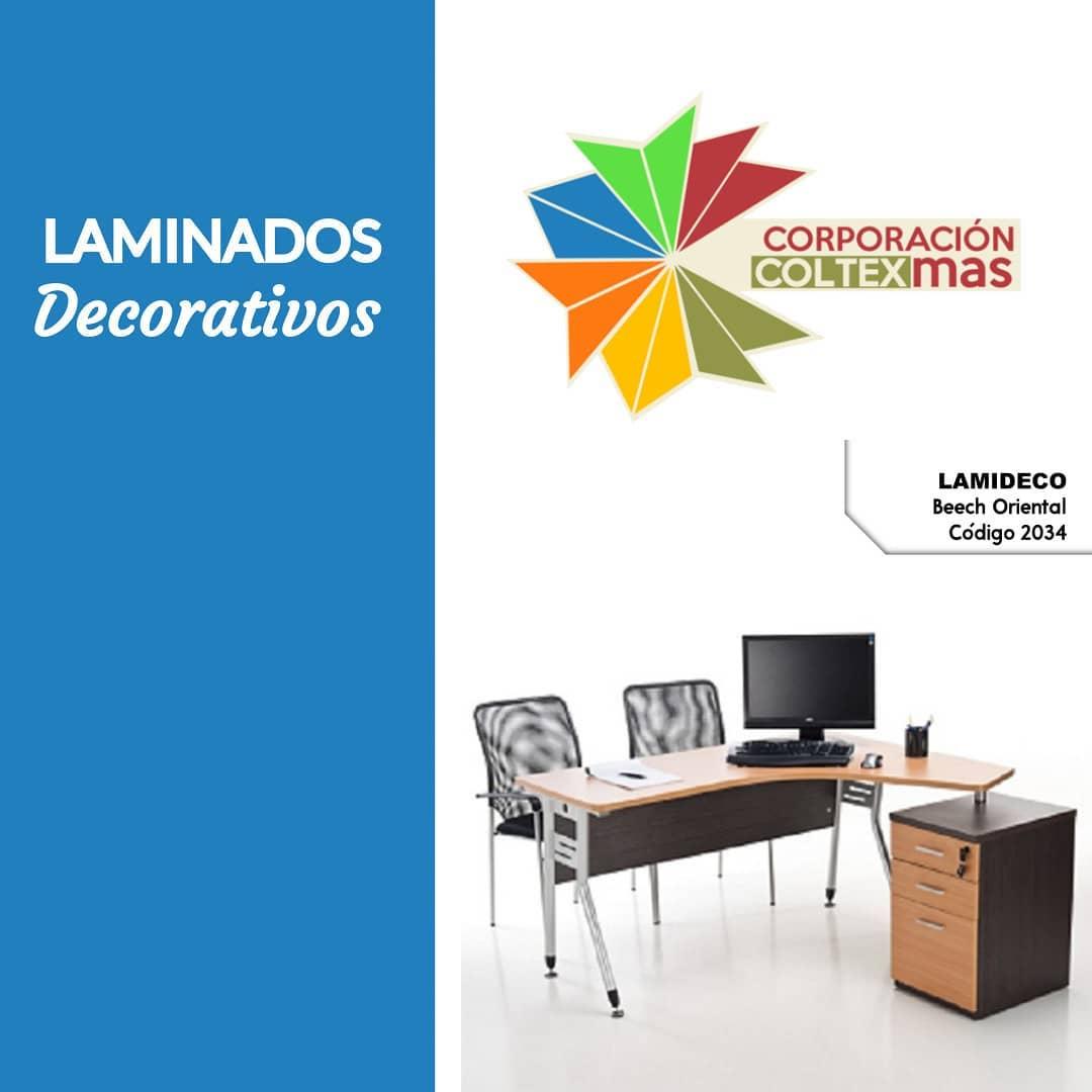 Temos em nosso espaço OECENTAL BEECH de Lamideco, o laminado decorativo ...