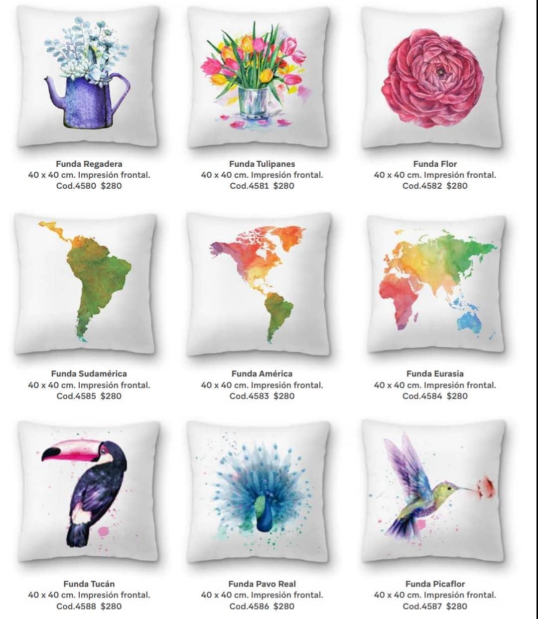 COBERTURAS PARA TRAVESSADORES Adicione cores, boas vibrações e estilo à sua casa!  MODELO AC ...