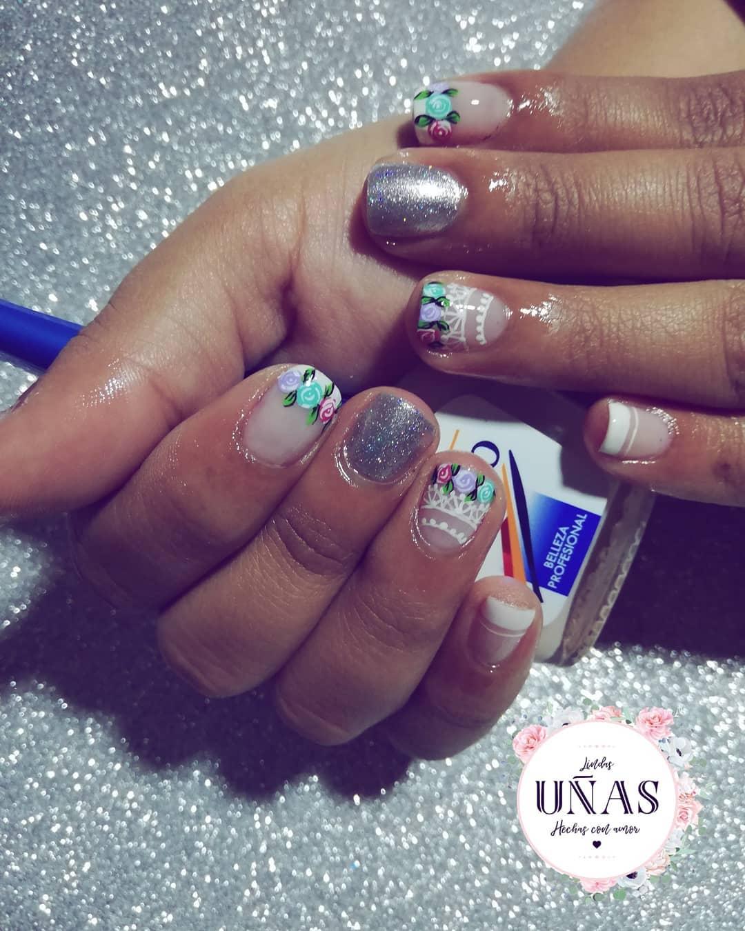 Unhas fofas feitas com amor # masglo # unhas # unhas # unhas # unhas lovenails # unhas # ma ...